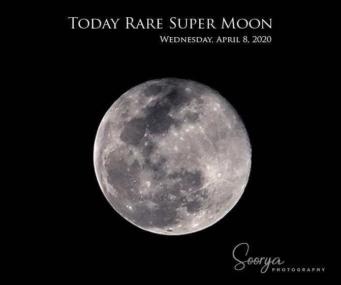 Rare Super Moon